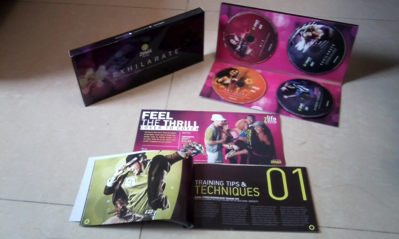 Zumba Exhilarate The Ultimate Fitness New! 2011 7 DVDs Boxset