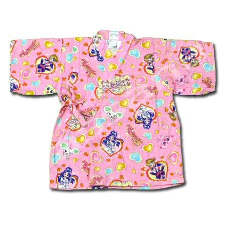 เสื้อจิมเบอิ สีชมพู ลาย Pretty Cure S100