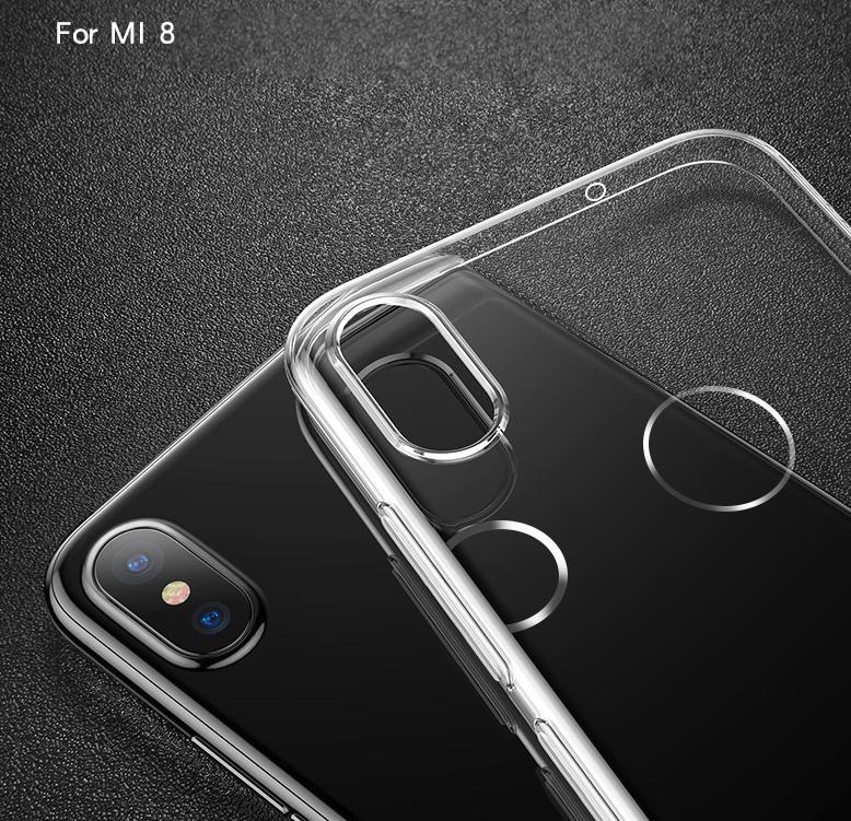 เคส Xiaomi Mi8 DFIFAN TPU แบบนิ่ม สีใส
