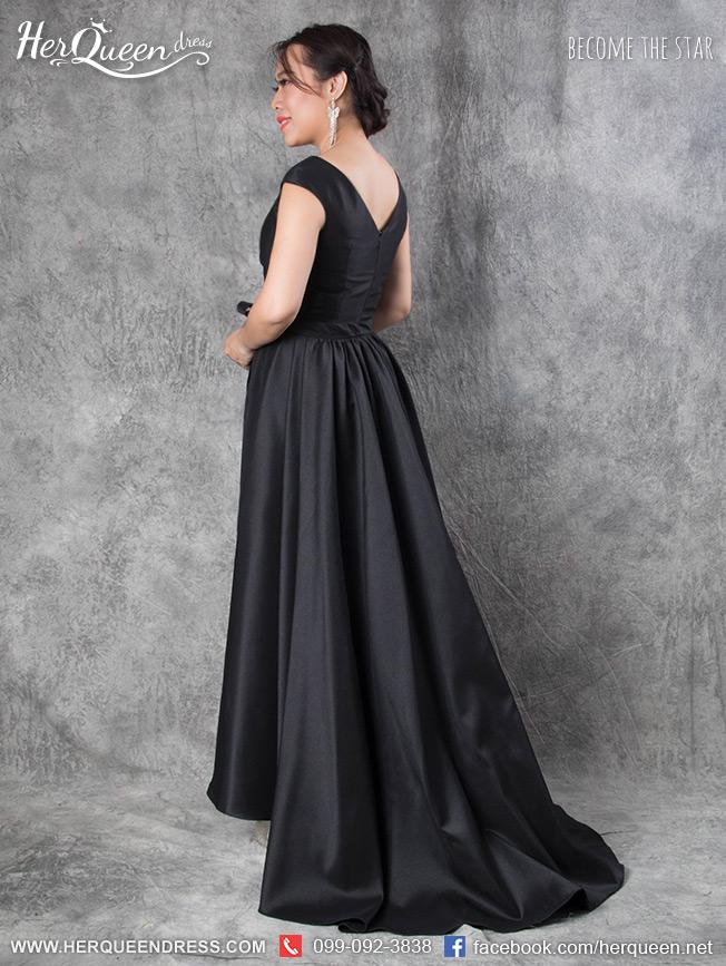 ชุดราตรีสีดำ