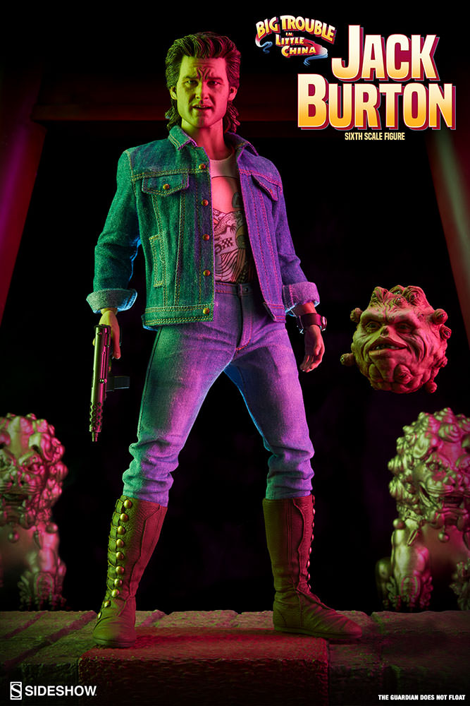 Jack Burton - Sixth Scale Figure by Sideshow Collectibles