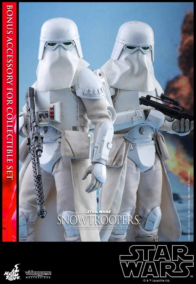 Hot Toys VGM25 STAR WARS BATTLEFRONT - SNOWTROOPERS