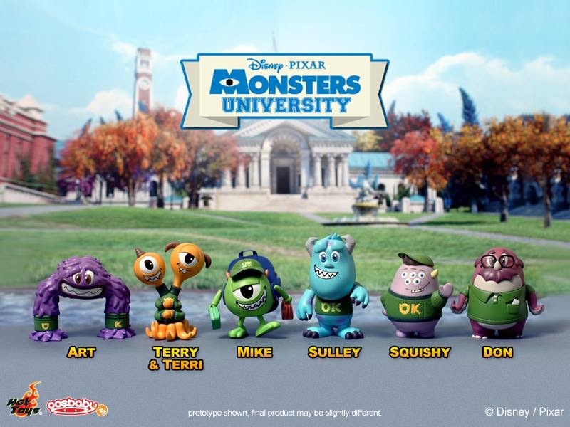 HOT TOYS Monsters University - cosbaby