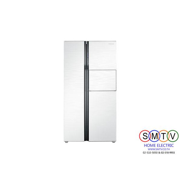 ตู้เย็น Side by Side 20.7Q SAMSUNG รุ่น RS554NRUA1J/ST