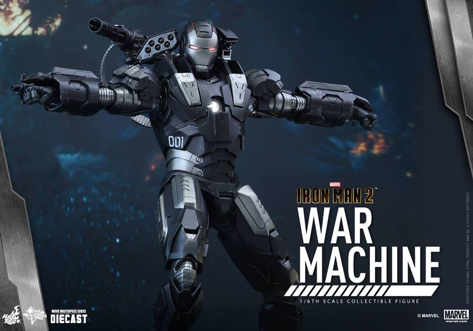Hot Toys MMS331D13 IRON MAN 2 - WAR MACHINE