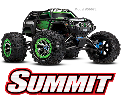 SUMMIT 4WD Extreme Terrain Monster Truck WithTQ 2.4GHz Radio System #5607