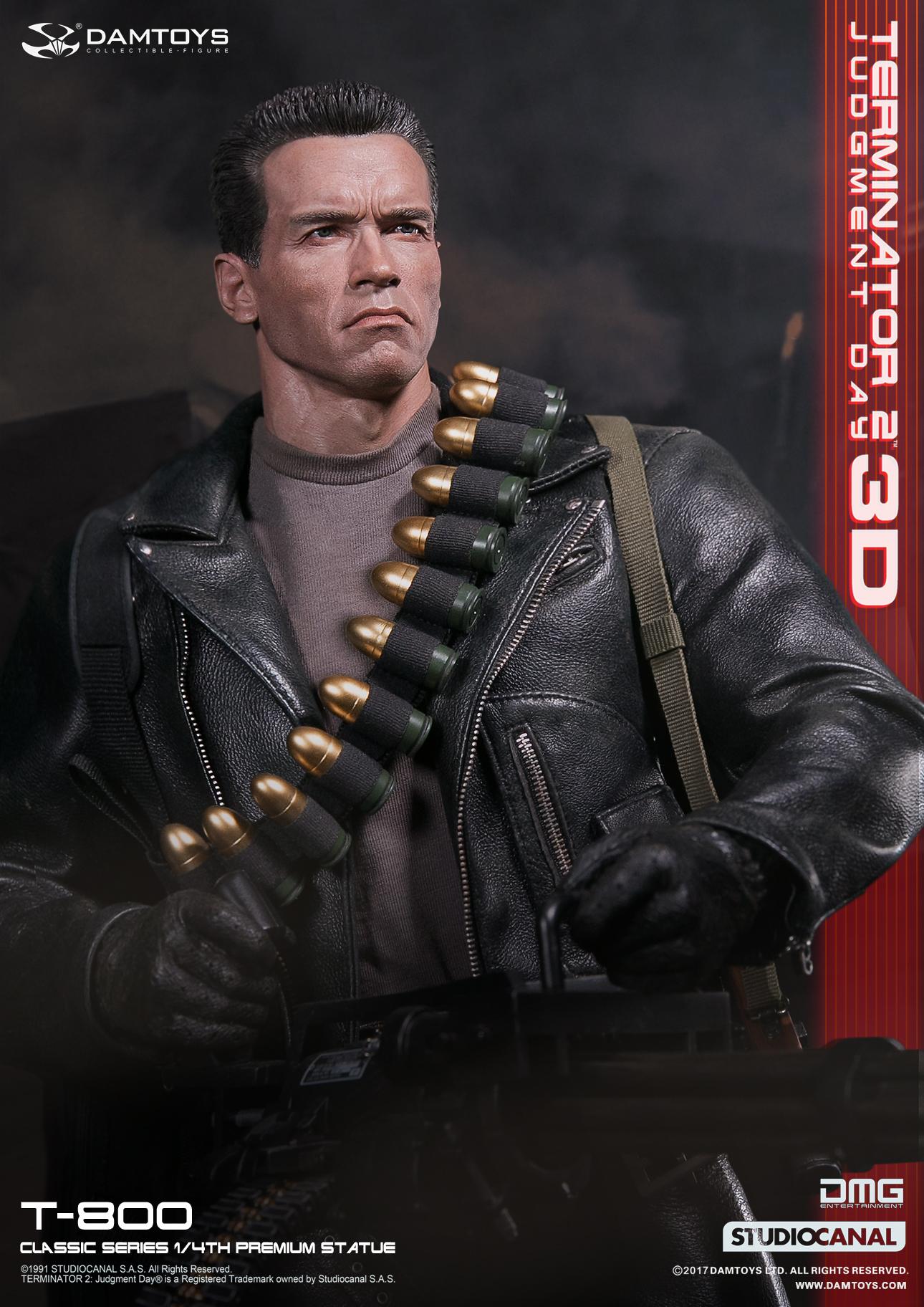 DAMTOYS CS001 CLASSIC SERIES 1/4 Terminator 2: Judgment Day - T-800