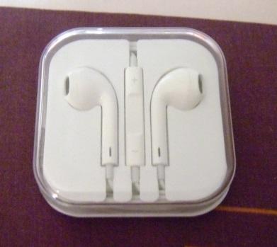 ขาย หูฟัง Earpods หูฟังไอโฟนห้า มีไมค์ ปุ่มรับสาย สามารถปรับเพิ่ม-ลดเสียงได้