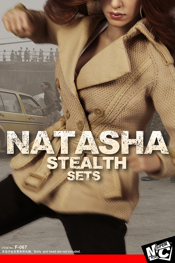 SuperMCTOYS F-067 Natasha Stealth Sets