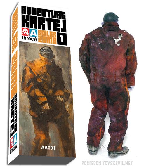ThreeA Adventure Kartel - Boiler zomb AK001