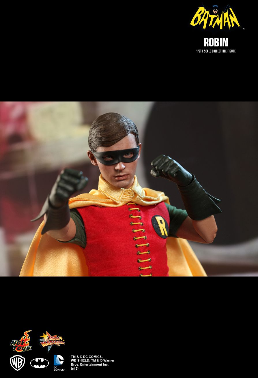 Hot Toys MMS219 BATMAN (1966) - ROBIN