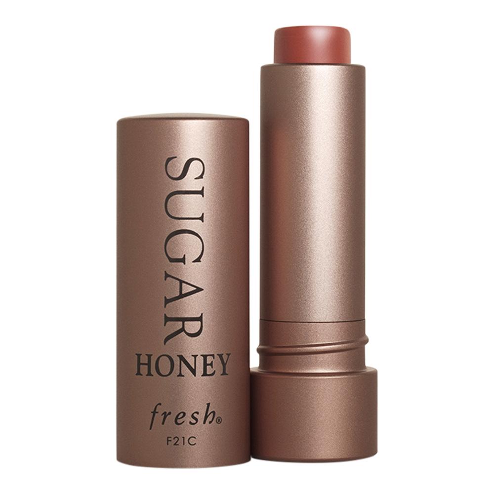 **พร้อมส่ง**Fresh Sugar Honey Tinted Lip Treatment Sunscreen SPF 15 ขนาด 4.3 g. ลิปทินท์บำรุงริมฝีปากสูตรเข้มข้น ทำให้ความชุ่มชื้นแก่ริมฝีปาก มอบความเรียบเนียนและยังช่วยป้องกัน ริมฝีปากจากการทำลายของแสงแดด มาพร้อมกับเฉดสีนู้ดอันอบอุ่น ,