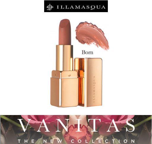 **พร้อมส่ง**Illamasqua Vanitas Lipstick # Born Rose Gold สีนู้ดอมส้ม ลิปสติกลิมิเต็ดอิดิชั่นสุดเอ็กซ์คลูซีฟ VANITAS เฉดสีใหม่ ที่จะเนรมิตเรียวปากสวยให้สวยสมบูรณ์แบบน่าหลงใหลชวนฝันในเนื้อสัมผัสแบบ Semi-matte อิ่มสวยด้วยเม็ดสีเด่นชัด ติดทนนาน พร้อมความชุ่ม