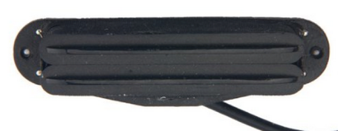 ปี๊กอัพคู่ Hum Pickup VT รุ่น H010 สีดำ
