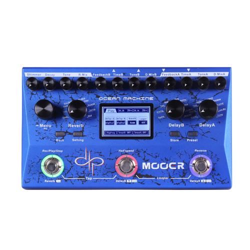 Mooer Ocean Machine Devin Townsend Signature Dual Delay Reverb and Looper
