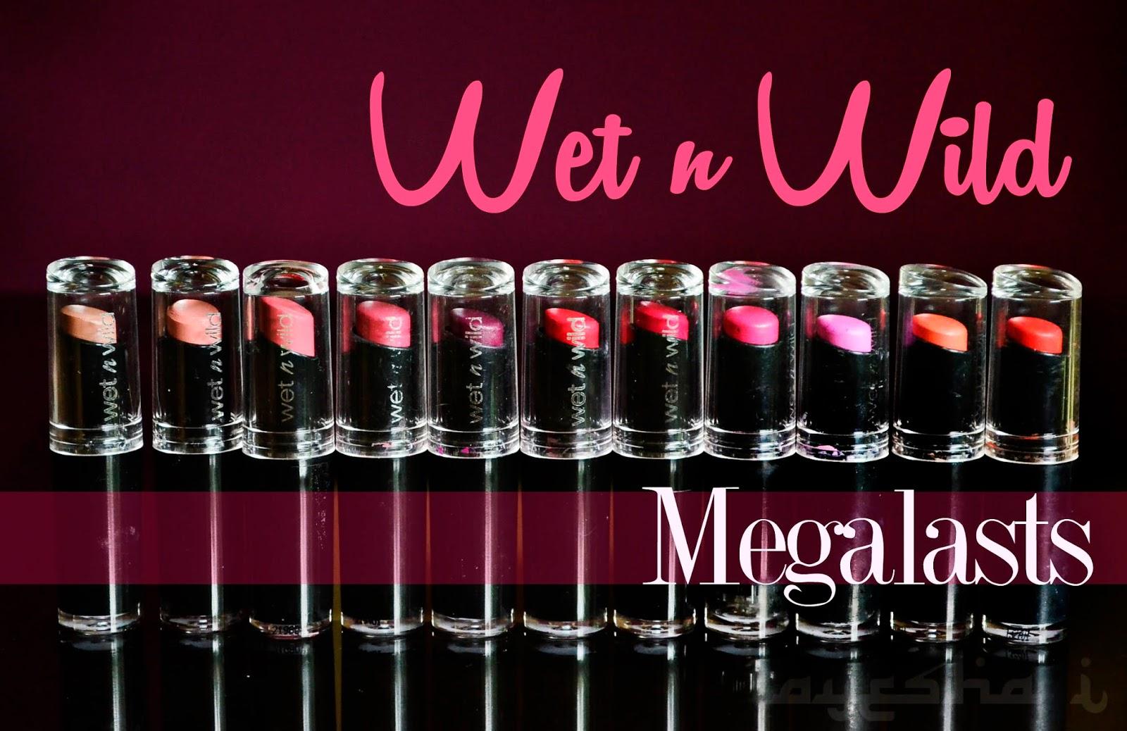 Wet n Wild Lipstick ลิปสติกติดทน เนื้อดี สีสวย