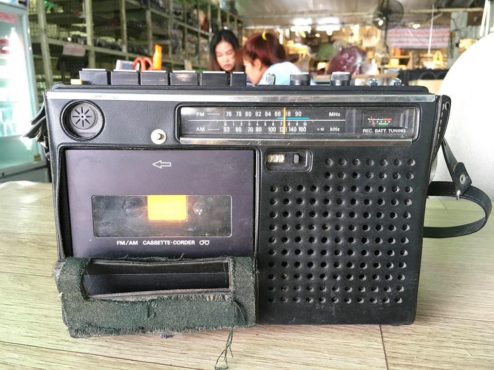 วิทยุ FM AM SONY CF-1150