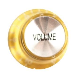 วอลุ่มกีต้าร์ไฟฟ้า สีทองหน้าเงิน Vol LP