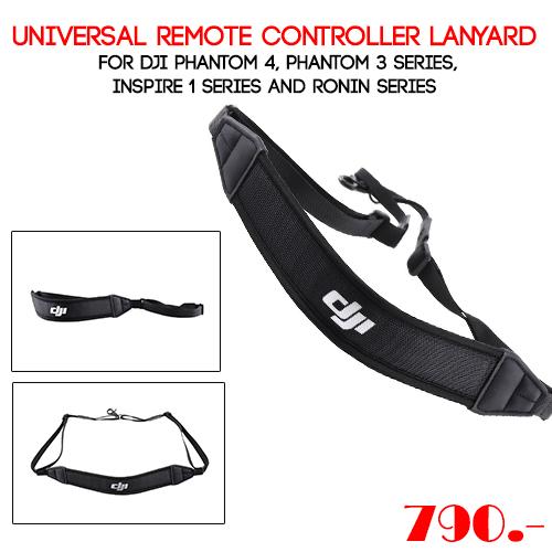 Universal Remote Controller Lanyard for DJI Phantom 4, Phantom 3 series, Inspire 1 series and Ronin series