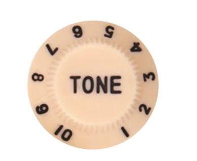 วอลุ่มกีต้าร์ไฟฟ้า สีครีมหนังสือดำ Tone ST