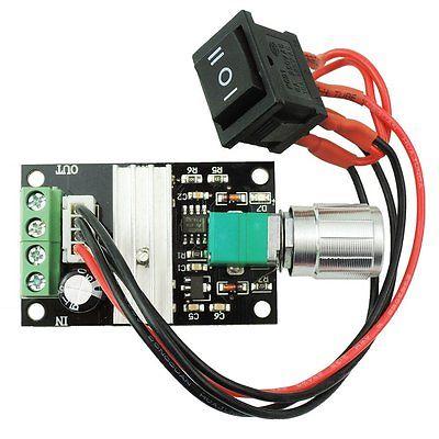 โมดูลควบคุมความเร็วมอเตอร์ Motor Speed Control PWM 6-28v 3a
