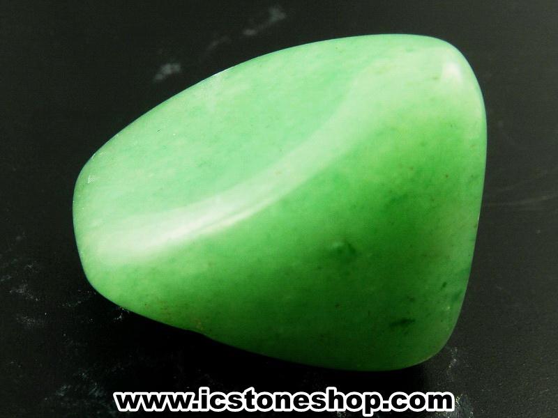 ▽กรีนอะเวนจูรีน (Green Aventurine) ขัดมันขนาดพกพา (18g)