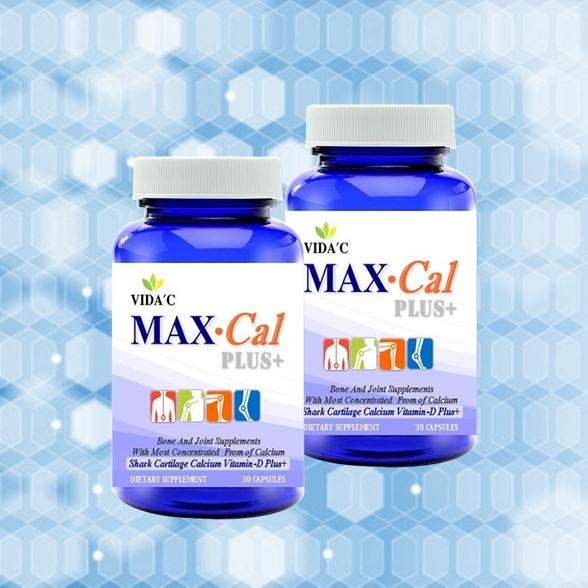 """""""MAX-CAL PLUS+"""" (แม็กซ์-แคล พลัส) 2 กระปุก"""
