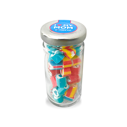 Tall Jar of Mother's Day (50g. Jar) Blue