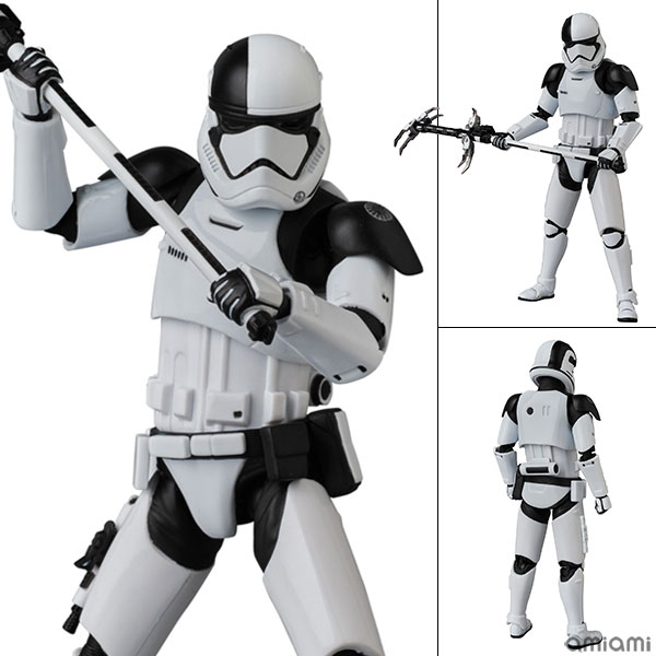 """MAFEX No.69 MAFEX FIRST ORDER STORMTROOPER EXECUTIONER """"Star Wars: The Last Jedi""""(Pre-order)"""
