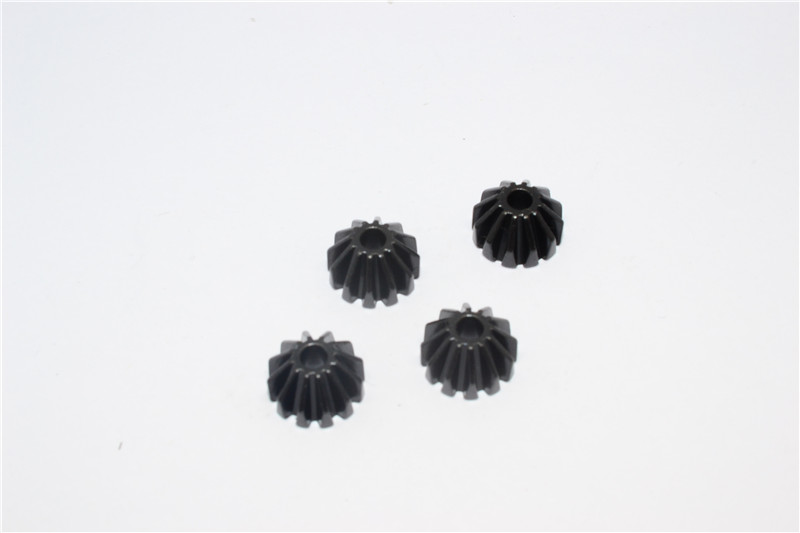 STEEL SMALL BEVEL GEAR - 4PCS (FOR TT02/TT02B)