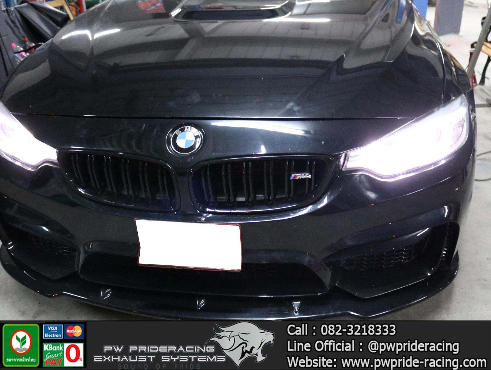 ชุดท่อไอเสีย BMW 420i F33 Convertible by PW PrideRacing