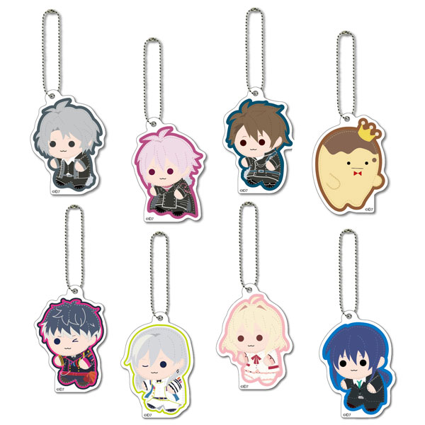 Idolish 7 - Felton mini Acrylic Mascot vol.2 8Pack BOX(Pre-order)