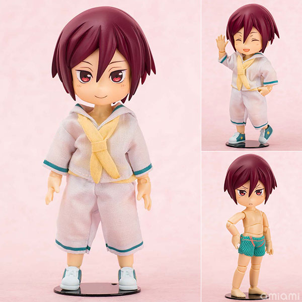 Free! Eternal Summer - Kisekae Action! Niitengo: Rin Matsuoka Posable Figure(Pre-order)
