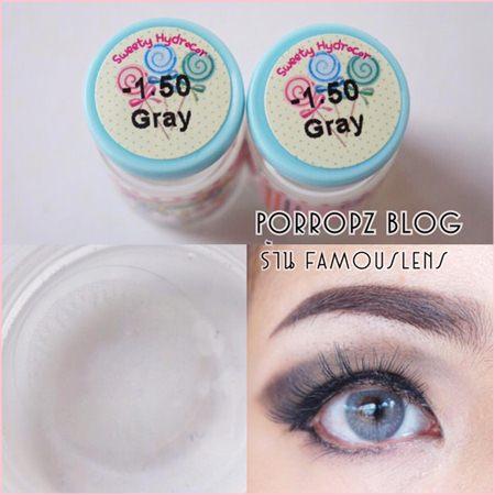 Sweety Hydrocor Sweety Contact Lens Gray คอนแทคเลนส์สีเทา คอนแทคเลนส์ตาฝรั่ง