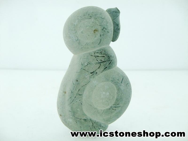 ▽หินนางฟ้า Fairy Stones รูปนกแพนกวิน จากแคนาดา (63g)