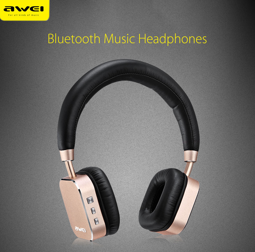 หูฟัง บลูทูธ AWEI A900BL Wireless Stereo Headphones