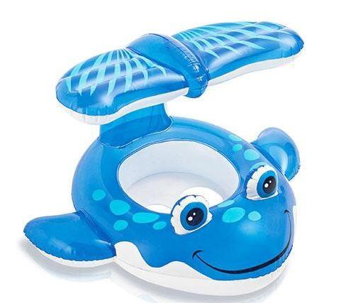 Intex Whale Baby Swim Pool ห่วงสอดขาปลาวาฬ 56593