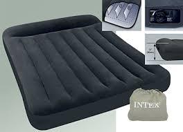Intex 66768 ที่นอนเป่าลม มีที่หนุนหัวในตัว ขนาด 137*191*23 ซม.แถมสูบไฟฟ้า
