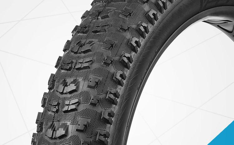 ยางจักรยานล้อโต ขนาด 4.7 VeeTire FAT TIRE รุ่น Bulldozer ขอบพับ