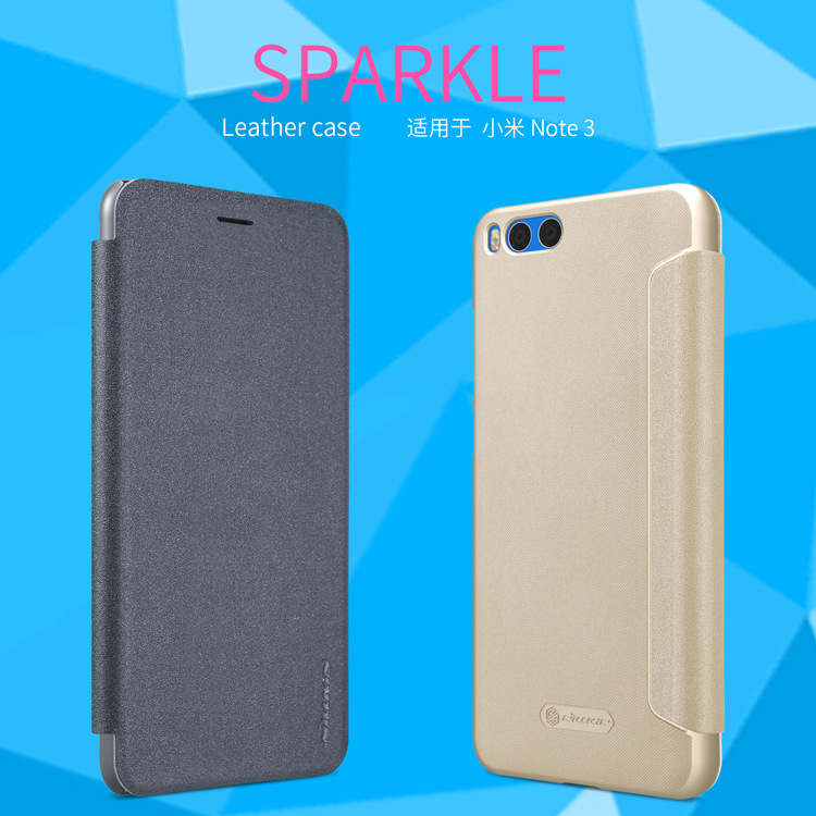 เคส Xiaomi Mi Note 3 Nillkin Sparkle Leather Case