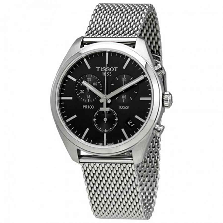 นาฬิกาผู้ชาย Tissot รุ่น T1014171105101, T-Classic PR100 Chronograph