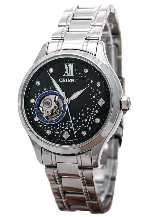 นาฬิกาผู้หญิง Orient รุ่น DB0A007B, Happy Stream Collection Blue Moon Open Heart