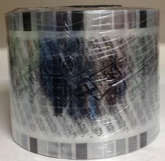 ม้วนฟิลม์ลายแก้วดำ2.5 kg