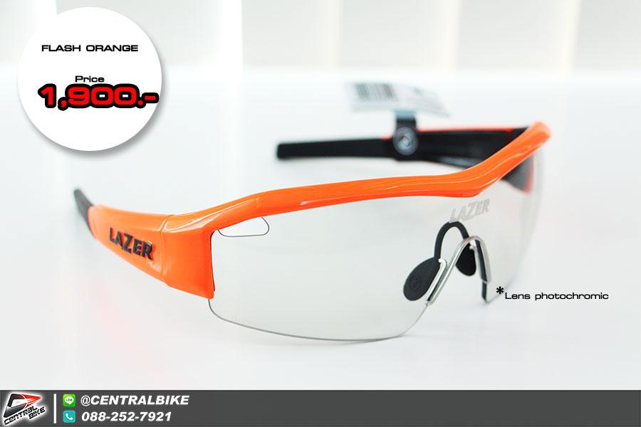 SS1 - Flash Orange - เลนส์ photochromic - แว่นตาจักรยาน LAZER