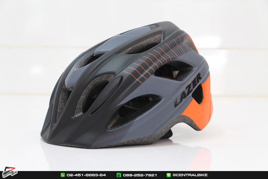 Beam Black Orange Stripes