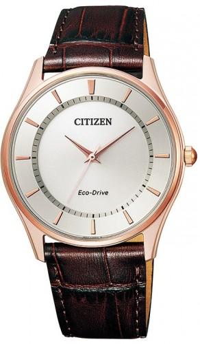 นาฬิกาข้อมือผู้ชาย Citizen Eco-Drive รุ่น BJ6483-01A, Sapphire Leather