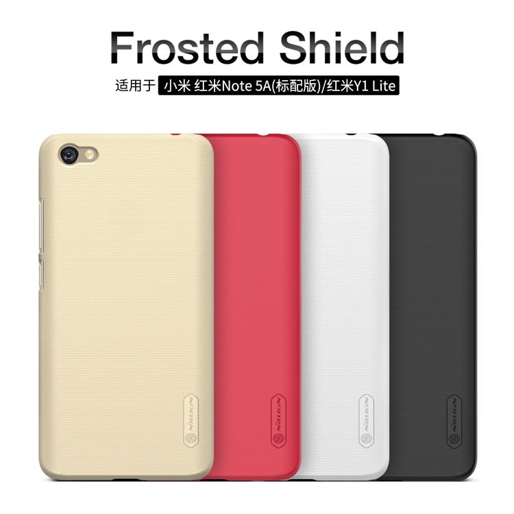 เคส Xiaomi Redmi Note 5A (Redmi Y1 Lite) Nilkin Super Frosted Shield (ฟรี ฟิล์มกันรอยใส)