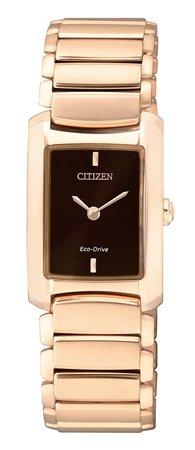 นาฬิกาข้อมือผู้หญิง Citizen Eco-Drive รุ่น EG2976-57W, Business Collection
