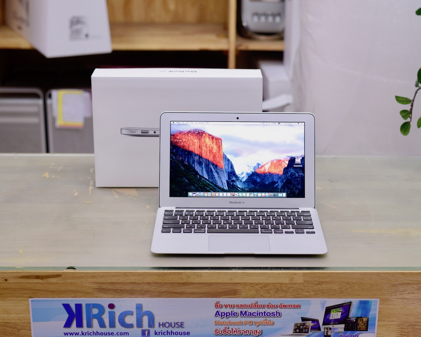 MacBook Air (11-inch, Mid 2013) Core i5 1.3GHz RAM 4GB SSD 256GB - Fullbox