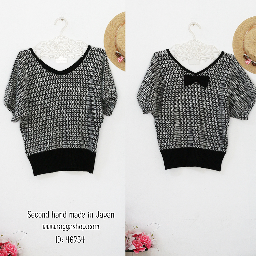 46734 size M เสื้อไหมพรม (ID 6452 จองคะ)